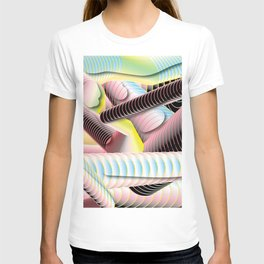 Looping in 3-d T-shirt