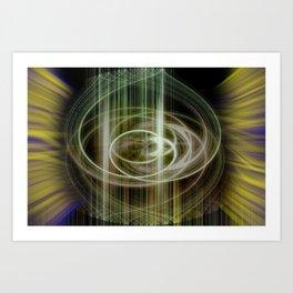 lineae abstracta Art Print