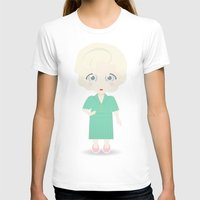 golden girls T-shirts featuring Girls in their Golden Years - Rose by Ricky Kwong