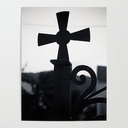 Cycladic cross Poster