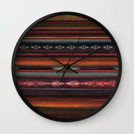 The Travellers Garment Wall Clock