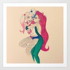 Smooch Art Print