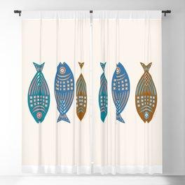 3 Fish   Multi Blackout Curtain