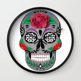 Hypster Skull Wall Clock