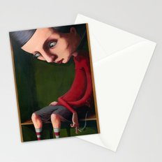 Girl in the Box Stationery Cards