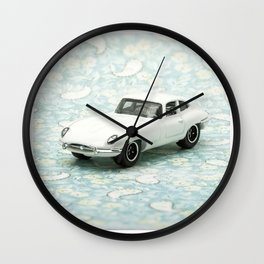 Vintage 1961 Jaguar Type E Matchbox Wall Clock