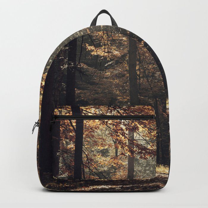 Autumn light and rays - horizontal Backpack