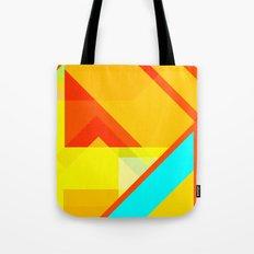 bipolar yellow Tote Bag