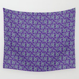 leaves pattern 3 Wall Tapestry
