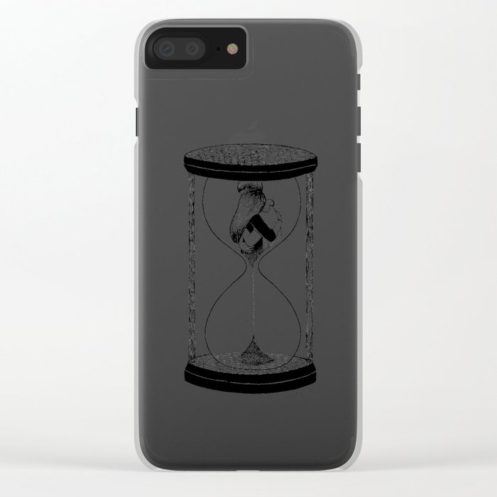 Our Time Clear iPhone Case