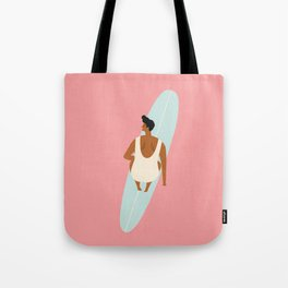 Surf girl Tote Bag