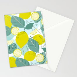 Lemons and Slices Stationery Cards