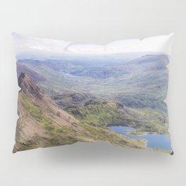 Snowdon Pyg and Miners Track Pillow Sham