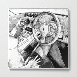 asc 717 - Le réflexe optocinétique (A wide visual field) Metal Print