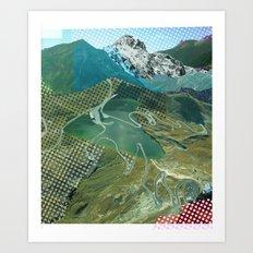 Experiment am Berg 13 Art Print