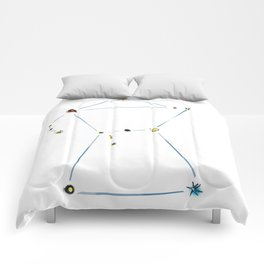 Cafe Orion Comforters