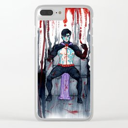 Ziven Volkov Clear iPhone Case
