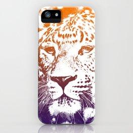 tiger lights iPhone Case