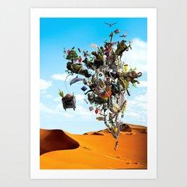 Surreal artwork Art Print