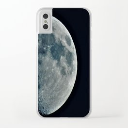 Moon2 Clear iPhone Case