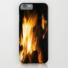 Cat On Fire iPhone 6s Slim Case
