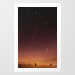 Planet Walk Art Print