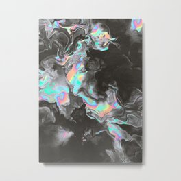 SPACE & TIME Metal Print
