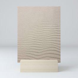 Sand Dune Minimal Desert Landscape Mini Art Print