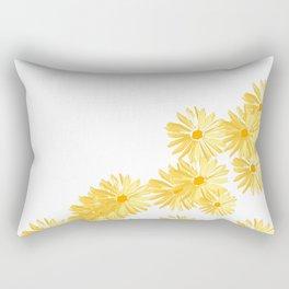 Flower minimal margarita daisy Rectangular Pillow