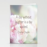 love quotes Stationery Cards featuring Quotes by liberthine01