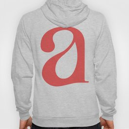 lowercase a Hoody