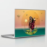 guardians Laptop & iPad Skins featuring GUARDIANS #1 by ANVIK