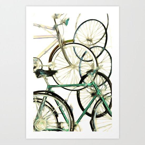 Recycled Art Print
