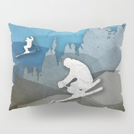 The Skiers Pillow Sham