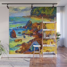 Wassily Kandinsky On the Beach Wall Mural