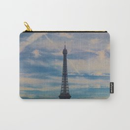 Eiffel Tower, Paris (Landscape) Carry-All Pouch