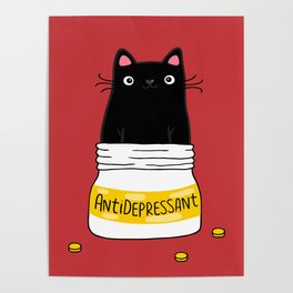 FUR ANTIDEPRESSANT Poster
