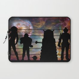 Doctor Who: The Whovian Suspects Laptop Sleeve