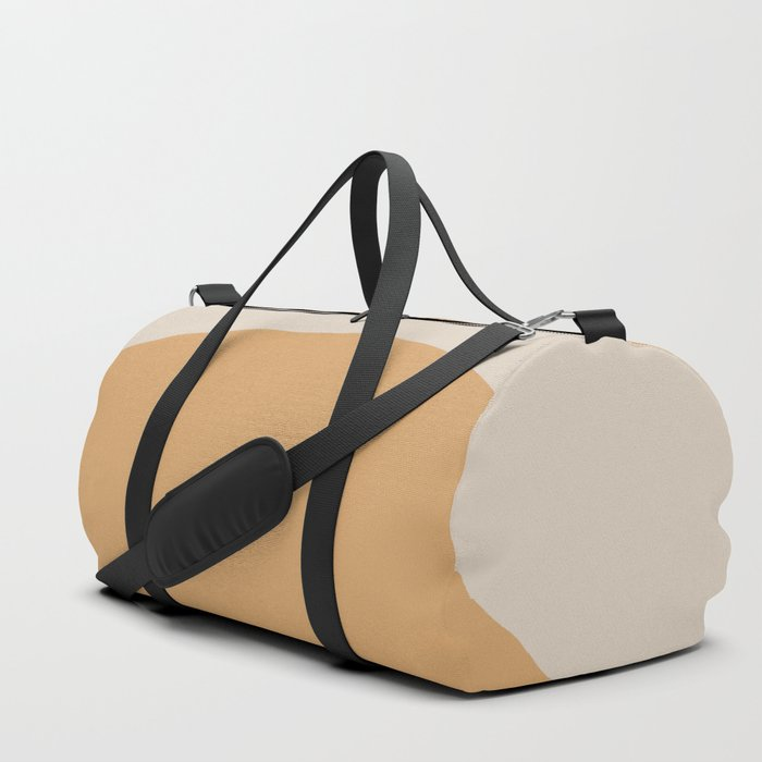 Minimal Retro Sunset - Neutral Duffle Bag