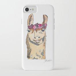 llama iPhone Case