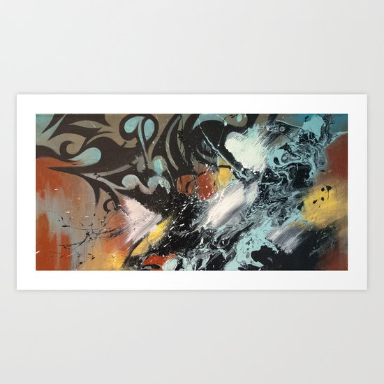 Message Perceived Art Print