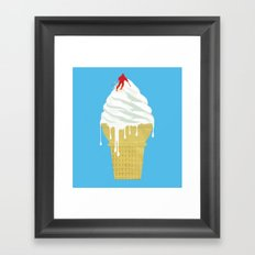 Global Melting Framed Art Print
