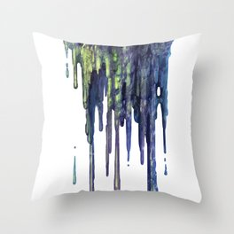 Slime Ball Throw Pillow