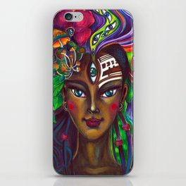 Native Girl iPhone Skin