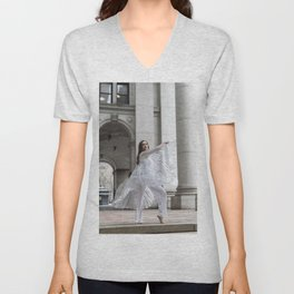 Translucent Wings Dance Unisex V-Neck