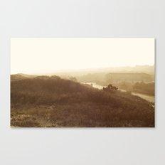 Montauk, NY Sunset Haze Canvas Print