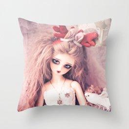 Viridian's Christmas Throw Pillow
