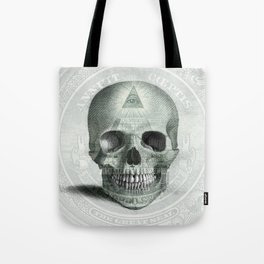 Eye on the Skull Tote Bag