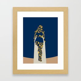 Back to Nature (NZ Kowhai) Framed Art Print