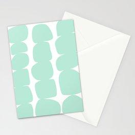 Aqua Stones Stationery Cards